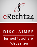 Disclaimer Siegel eRecht24